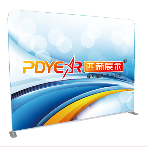 Trade show Straight tension fabric display backdrop