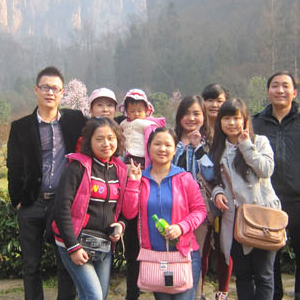 2012-We are in Zhangjiajie